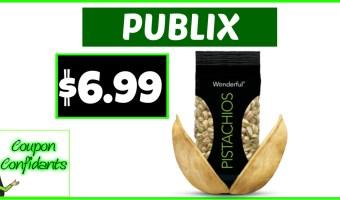 $6.99 Wonderful Pistachio Nuts at Publix!