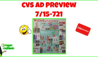 CVS AD Preview July 15 – 21 2018