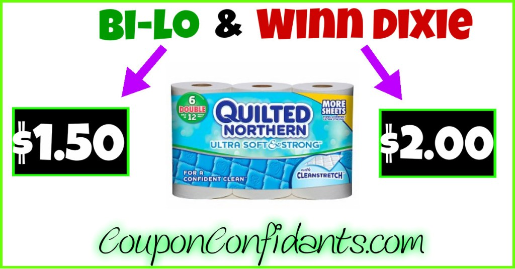 It's BACK!!! Quilted Northern Deal at Bi-lo and Winn Dixie!!