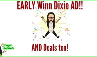 Winn Dixie AD and Visual Deals too! 8/15-8/21