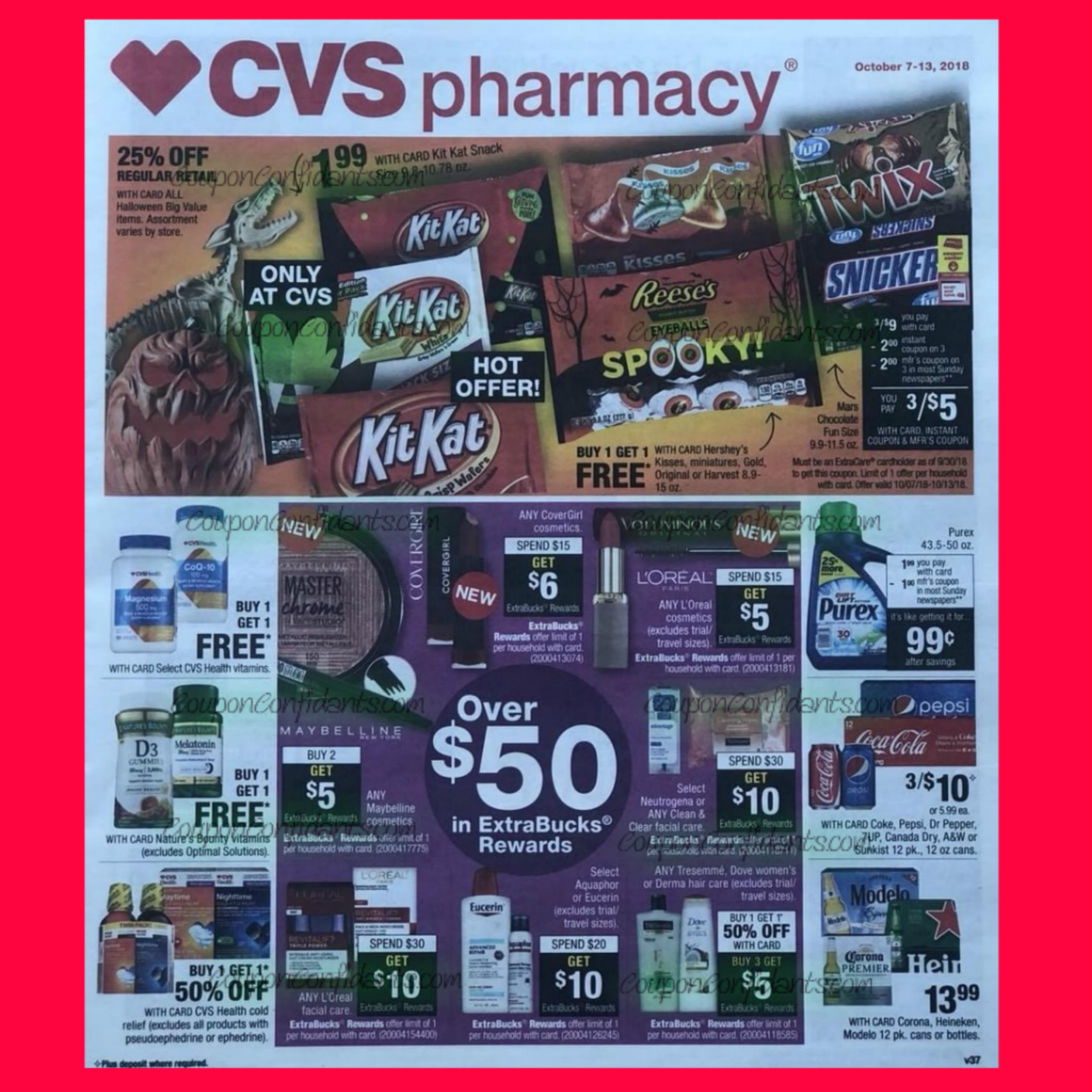 CVS AD Early Look!! 10/7 - 10/13 ⋆ Coupon Confidants