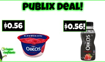 Stock up on Dannon at Publix! YUM!