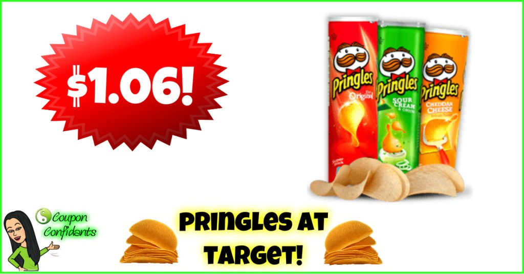 Pringles Full Size Cans only $1.06 at Target!