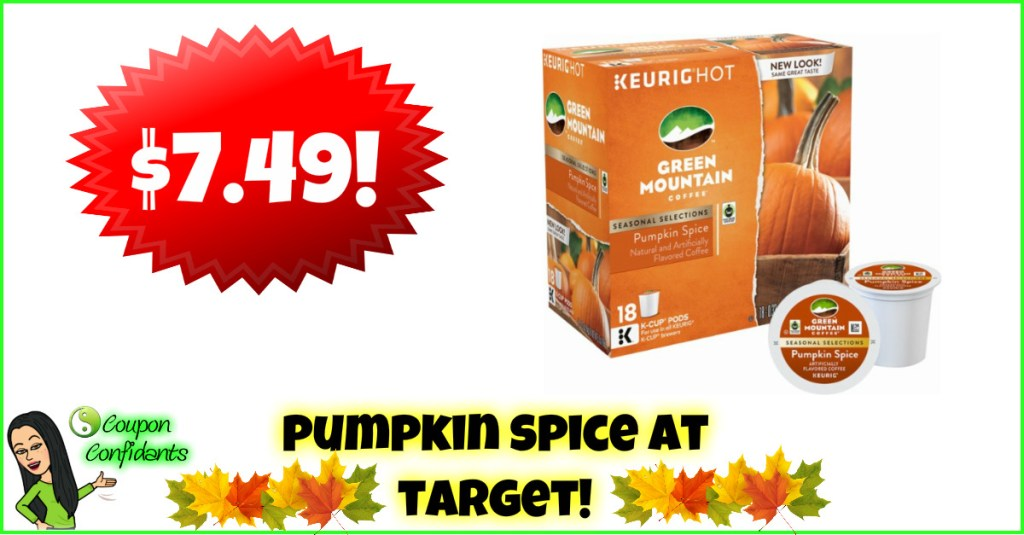Pumpkin Spice K-Cups at Target!