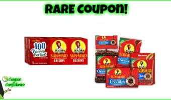 YUM!!! Stock up Raisins for a $1!!