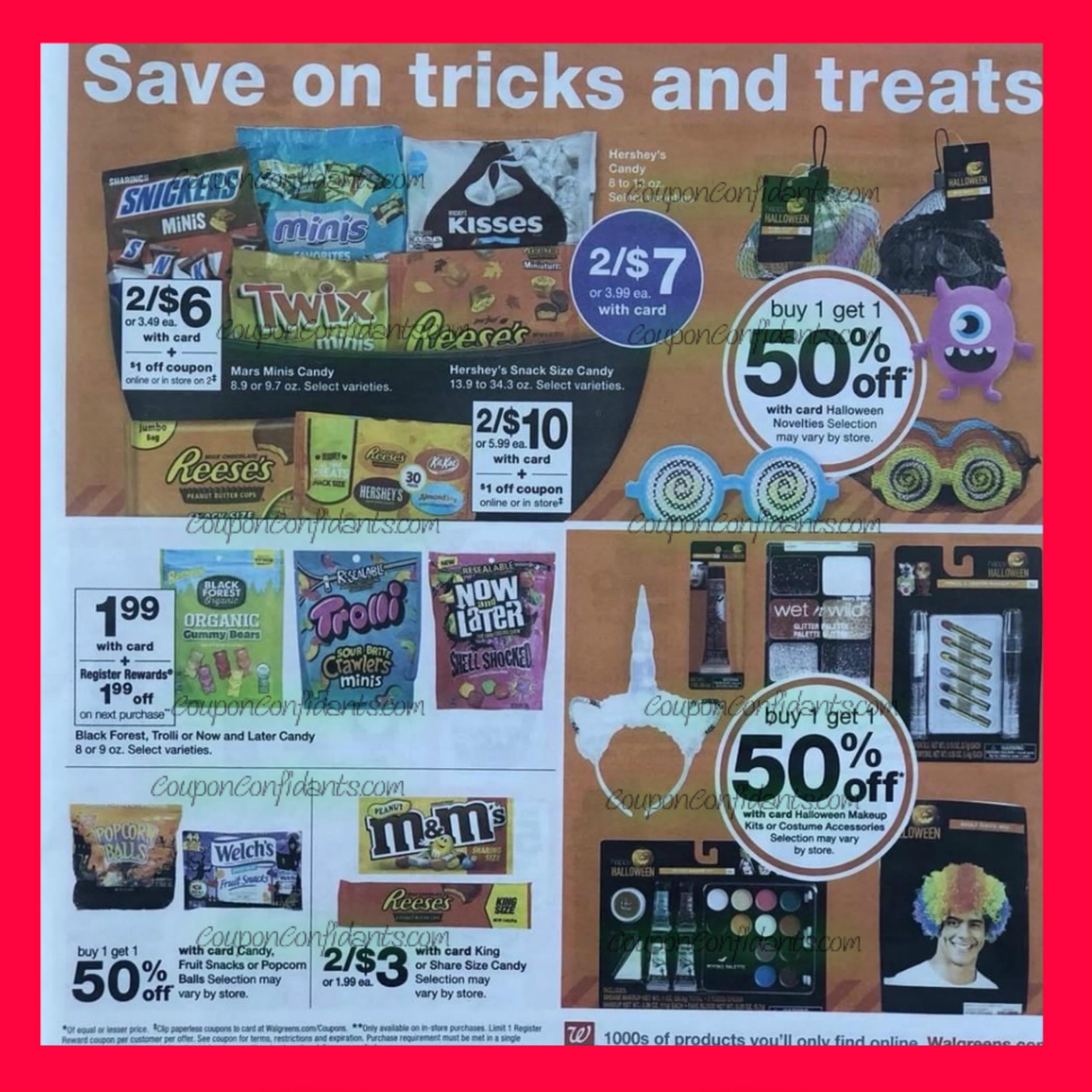 Walgreens Ad Preview October 14 - 20 ⋆ Coupon Confidants