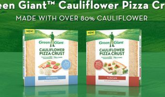 New Product and New Coupon! Green Giant Cauliflower Crust!
