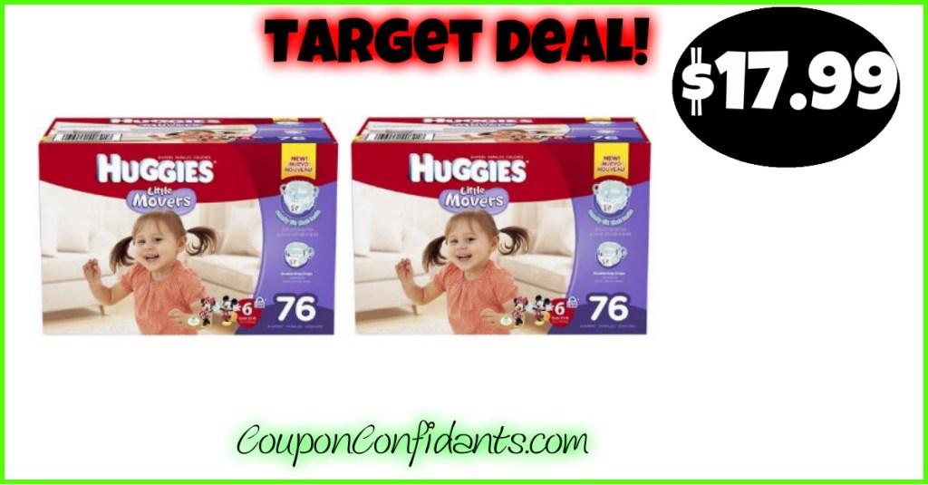 Huggies Deal for Target!!