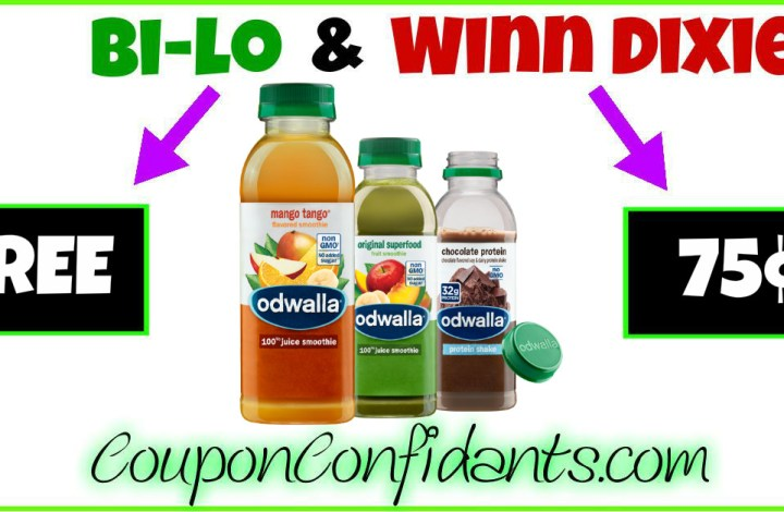 HOT Deal on Odwalla at Bilo and Winn Dixie!!