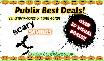 MASSIVE Best Deals List for Publix!!