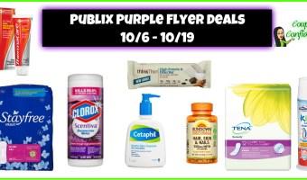 Publix Visual Purple Flyer Deals – 10/6 – 10/19