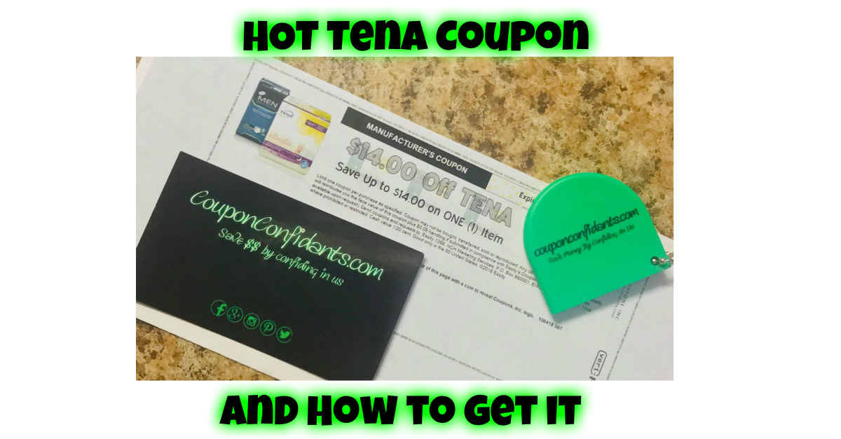 graphic regarding Tena Coupons Printable named How in the direction of choose the Incredibly hot Tena Coupon! ⋆ Coupon Confidants