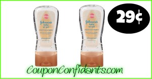 29¢ Johnson & Johnson Baby Oil Gel at Publix!