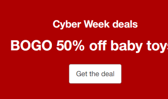 Buy 1 Get 1 50% OFF Baby Toys – Target!