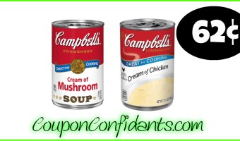 Soup at Target only 62¢!