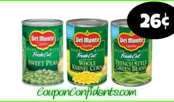 Del Monte Veggies even Cheaper at Winn Dixie and Bilo!