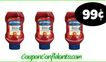 99¢ Hellmann's Ketchup at Publix! NICE!