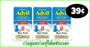 39¢ Infant's Advil at Publix! WOW!