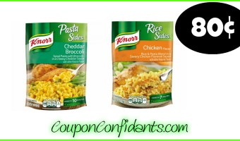 Knorr Sides only 80¢ at Winn Dixie and Bi-lo!
