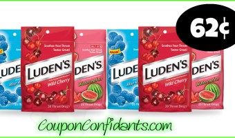 62¢ Luden's Cough Drops at Publix!