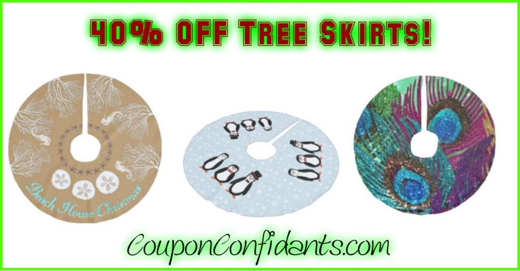 Tree Skirts Sale – 40% OFF!