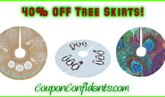 Tree Skirts Sale – 40% OFF!