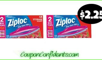 Ziploc BIG Count bags only $2.25 at Publix!