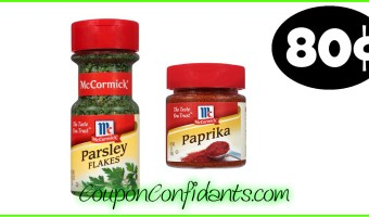 Stock up on McCormick Spices at Winn Dixie and Bi-lo!