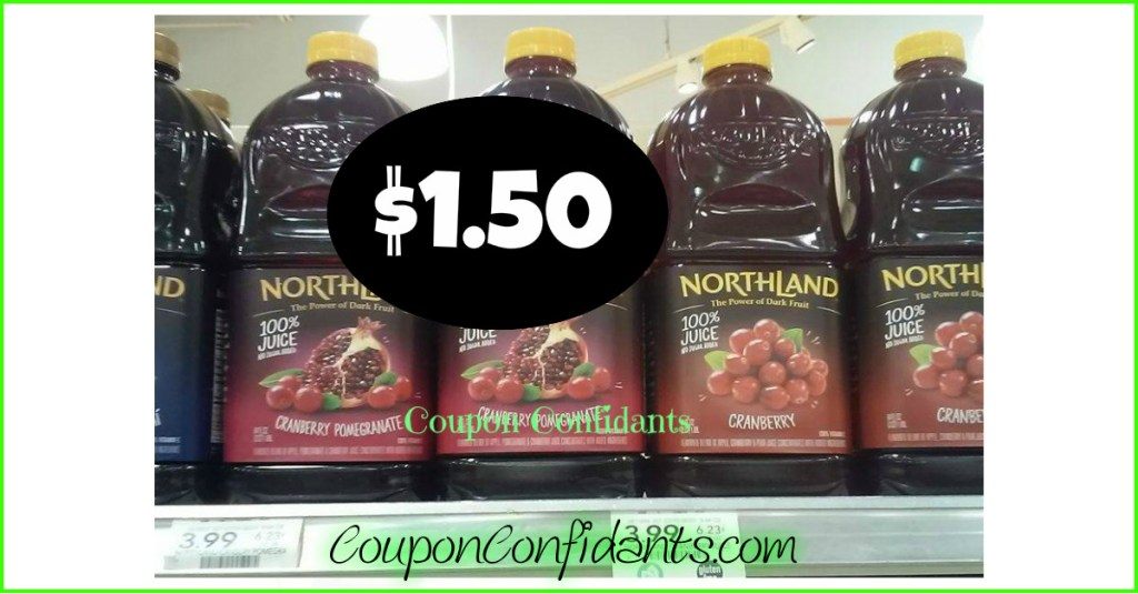 Northland Juice $1.50 at Publix