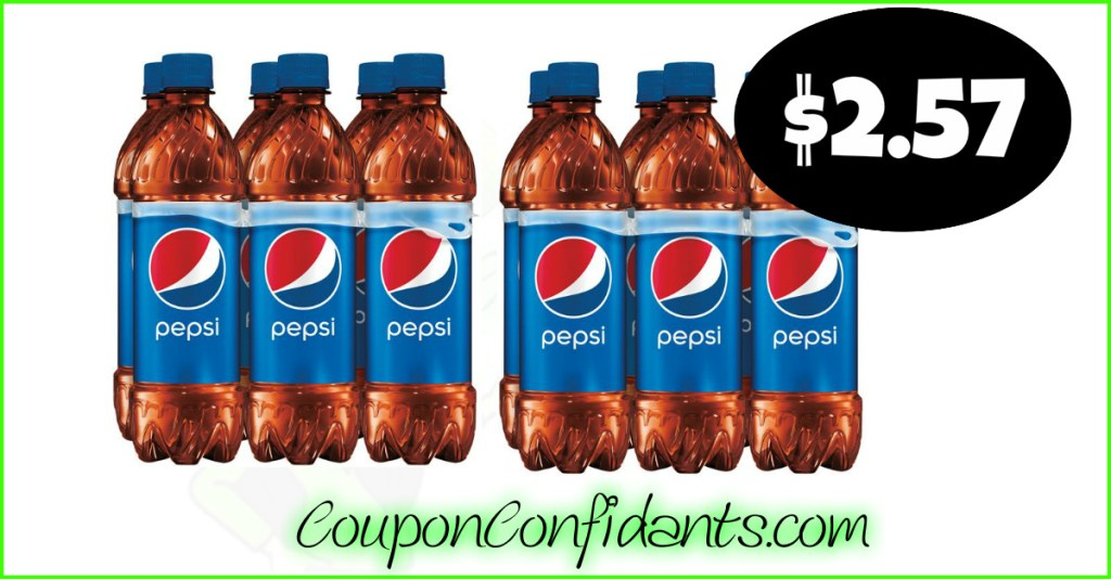 Pepsi Deal! NO Coupons Needed!