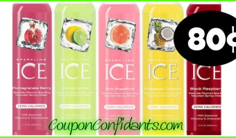 80¢ Sparkling Ice Drinks at Publix!