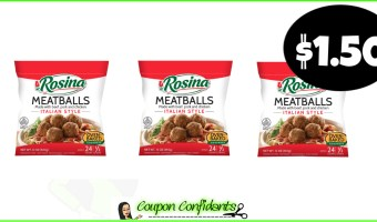 Rosina Meatballs for a stock up price at Winn Dixie and Bilo!
