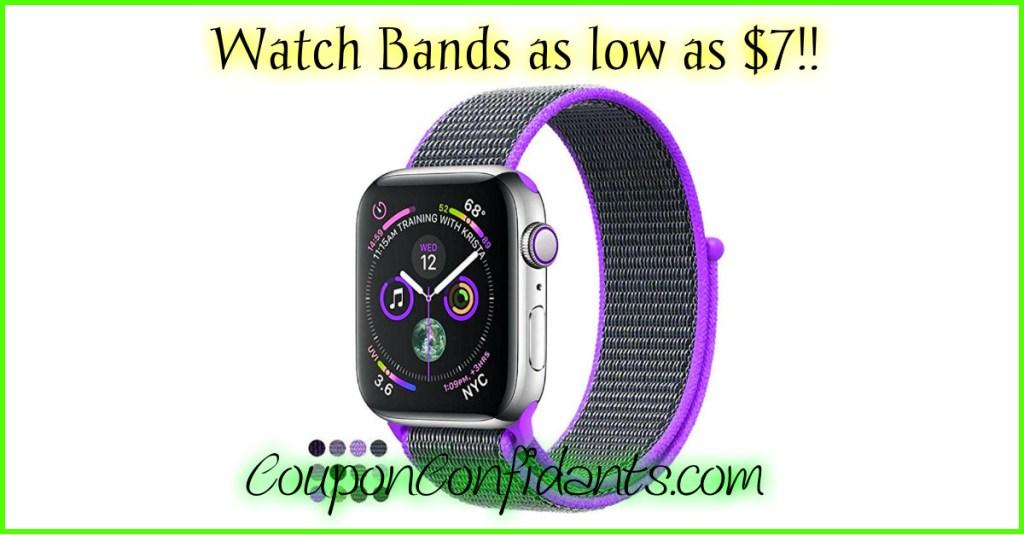 Watch Bands – Tons to choose from as low as $7!