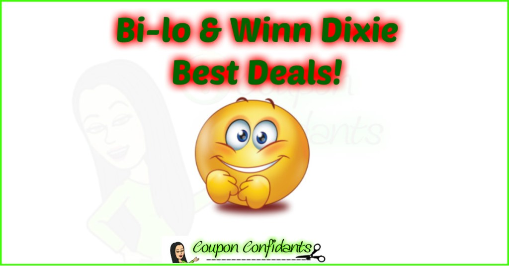 Bilo and Winn Dixie BEST Deals! 10/30-11/5