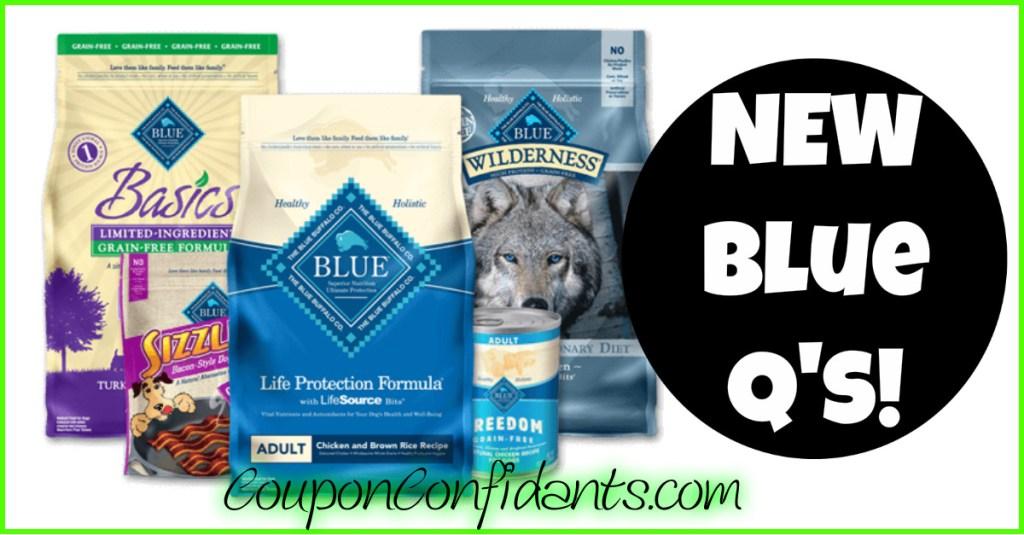 NEW Blue Buffalo RARE Coupons!