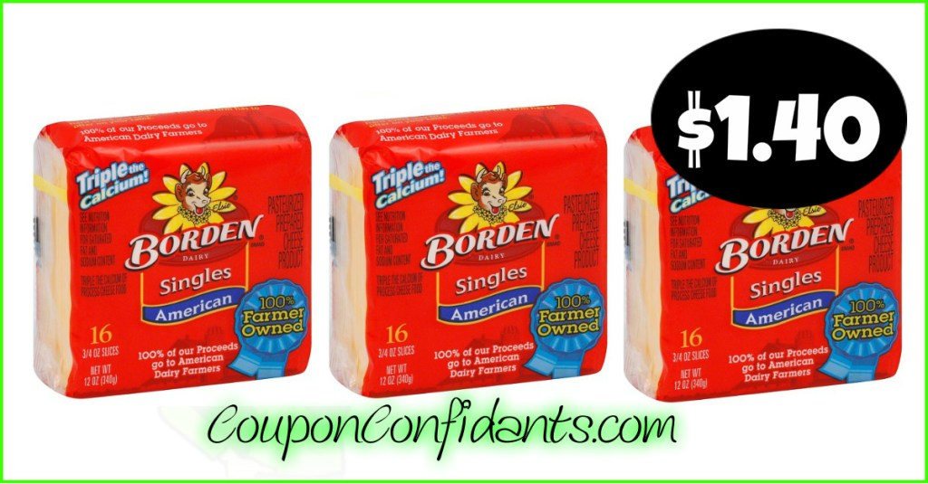 Borden Cheese only $1.40 at Publix!