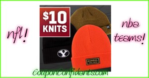 NICE sale on Knits!! NFL and NBA included!
