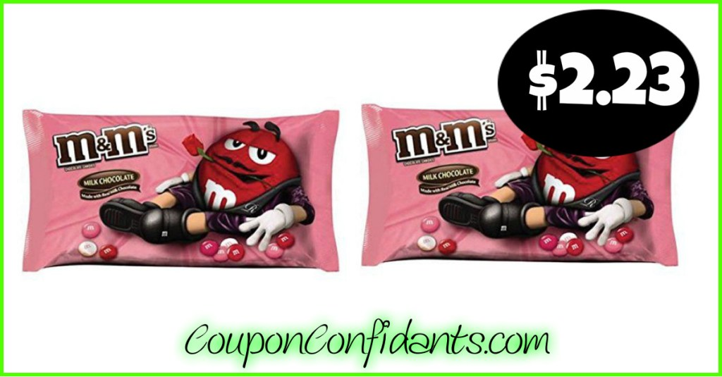 M&M's Valentine's Candy $2.23 at Target – Early Deal!