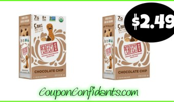 Perfect Kids Bars 5 ct only $2.49 per pack at Target!