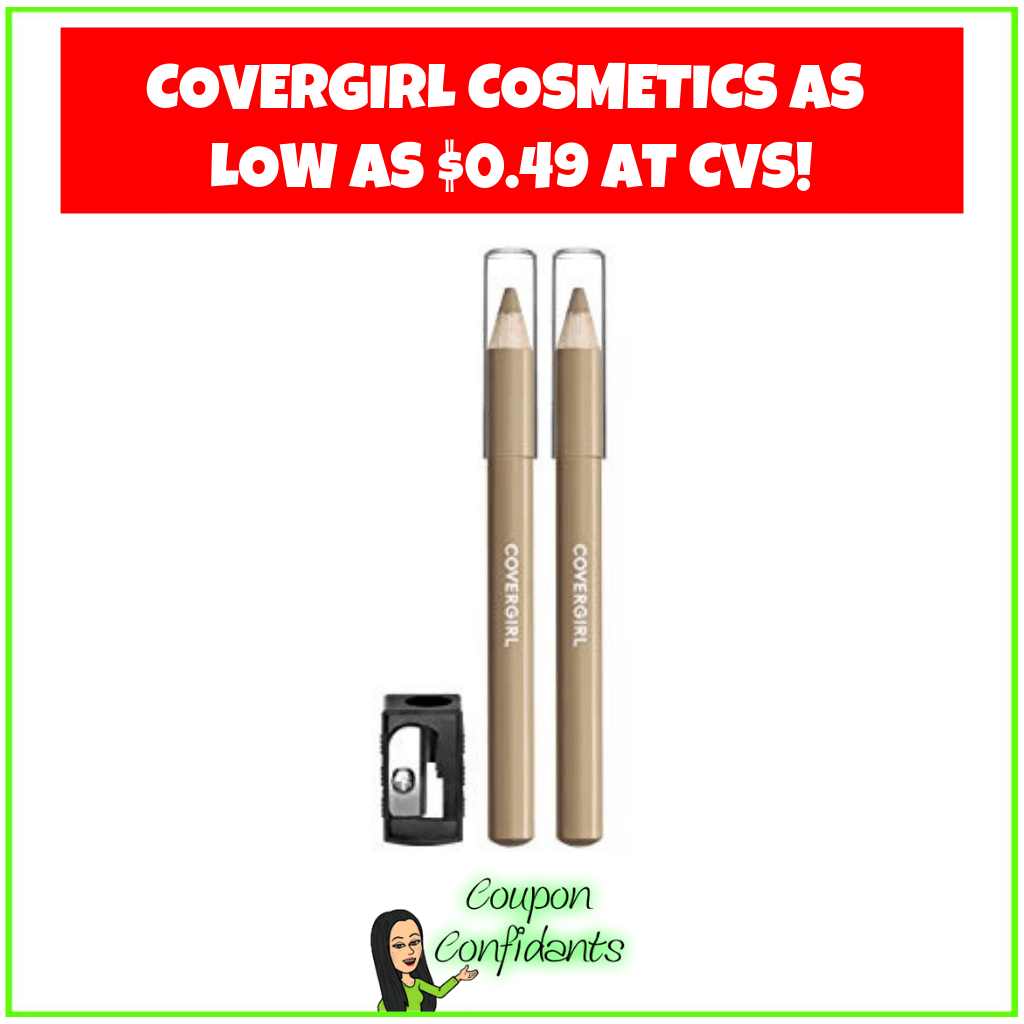 Covergirl Cosmetics as Low as $0.49 at CVS!