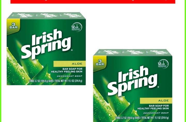 Irish Spring Bar Soap $1 each after ECB'S at CVS!
