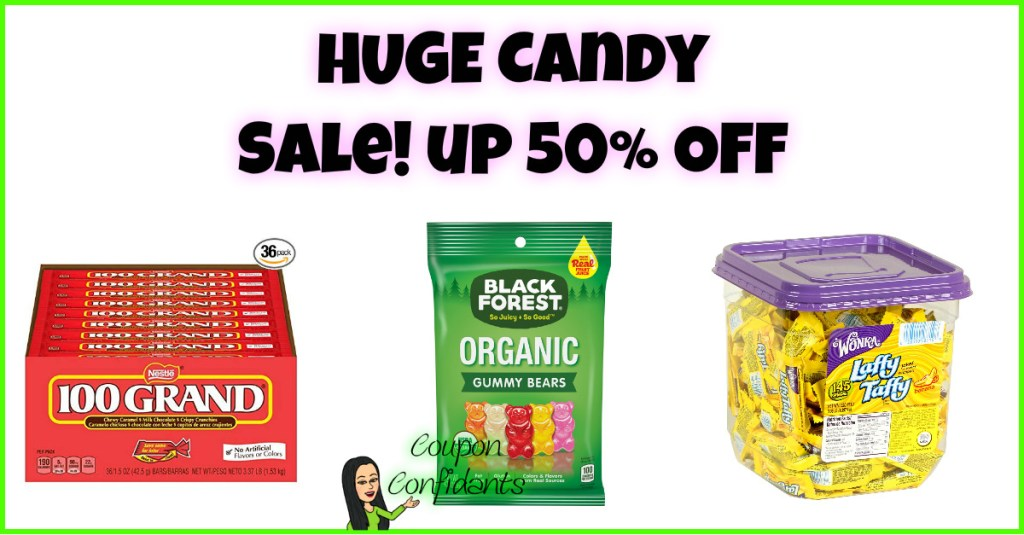 Super Candy SALE! Up to 50% OFF on some!