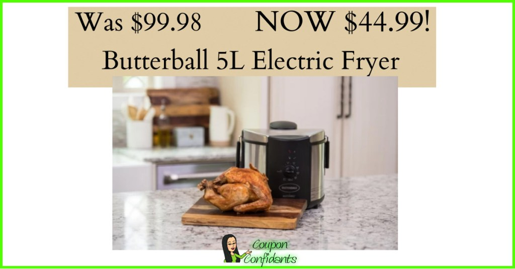 Over 50% OFF – 5L Electric Fryer at Target!