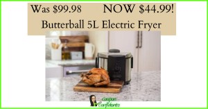 Over 50% OFF – 5L Electric Fryer at Target!