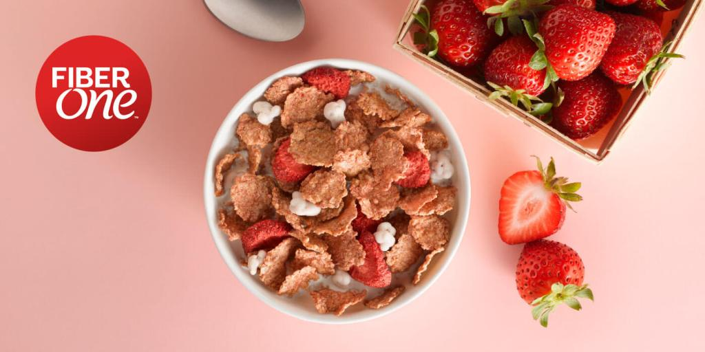 Fiber One Strawberry & Vanilla Clusters $1.13 each at Publix!