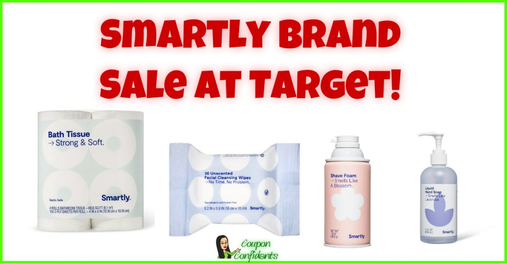 Smartly Brand BIG Sale at Target!