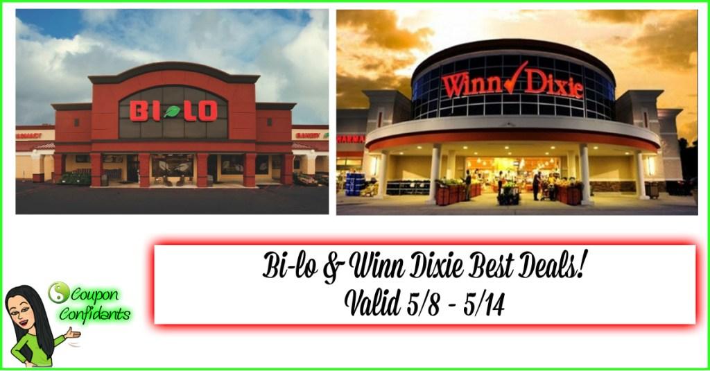 Bi-lo and Winn Dixie Best Deals 5/8-5/14