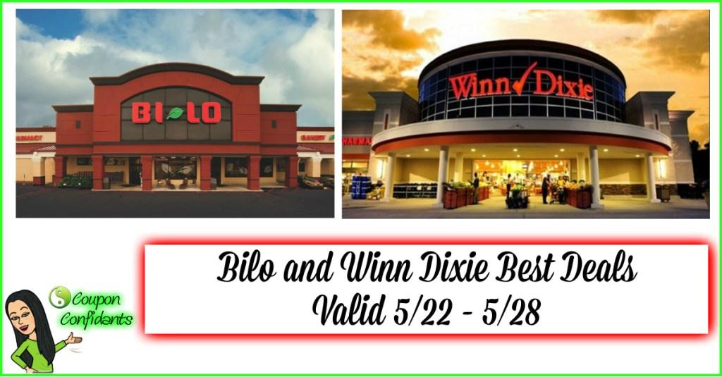 BILO AND WINN DIXIE BEST DEALS! BIG WEEK! 5/22-5/28