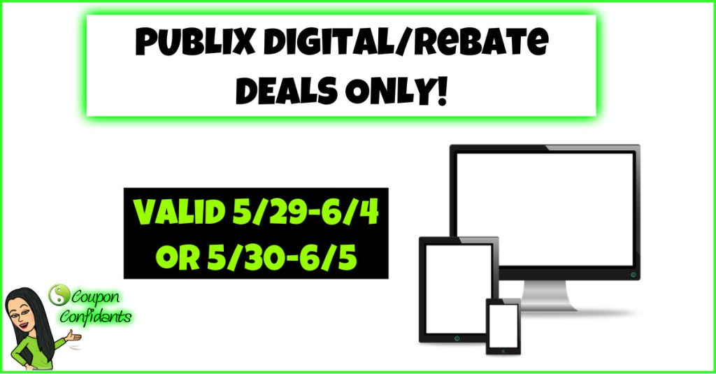 Publix Deals ANYONE can do! 5/29 – 6/4 or 5/30-6/5
