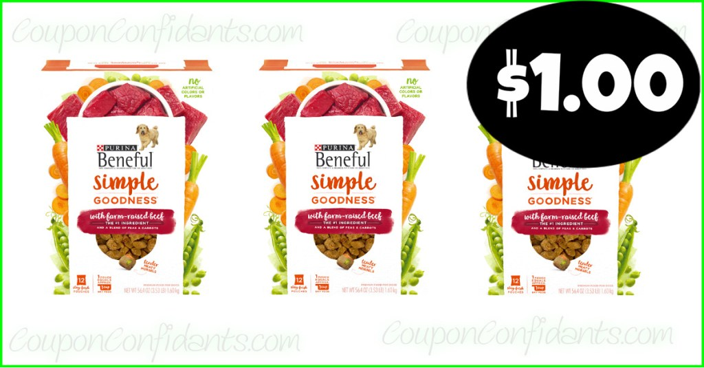 NEW COUPON for this Beneful DEAL at Publix!! RUN!